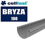 System rynnowy Bryza 100 grafit, rynny i akcesoria