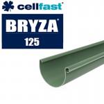 System rynnowy Bryza 125 zielony, rynny i akcesoria