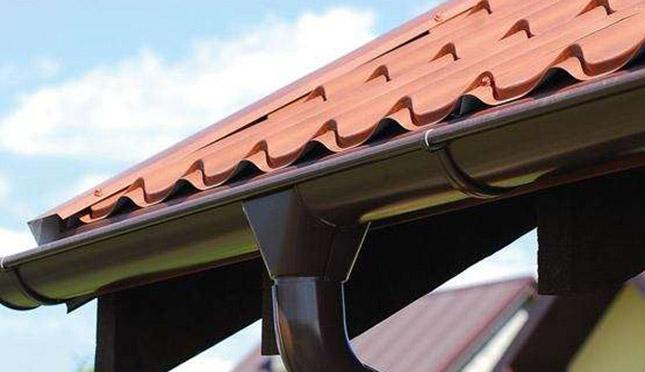 Rynny do ceglastego dachu